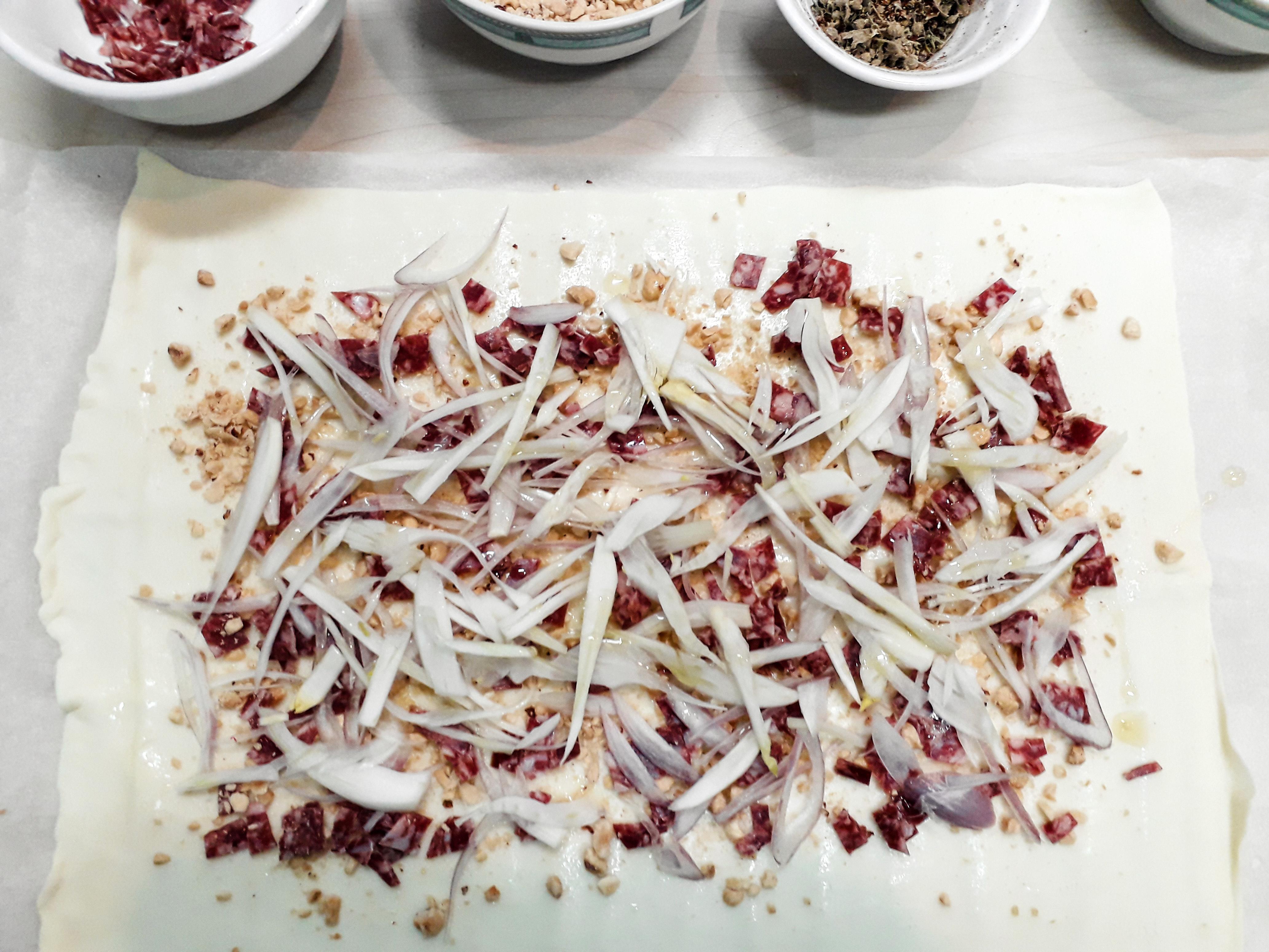 Receta Pizza Salmón Ahumado Hinojo Aceite Mandarina Zaatar Cilantro Afuegolento 16 12 20