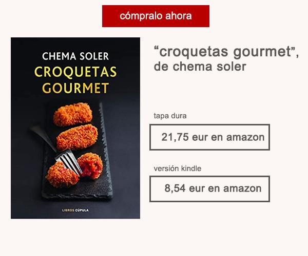 Libro Croquetas Gourmet Chema Soler Afuegolento