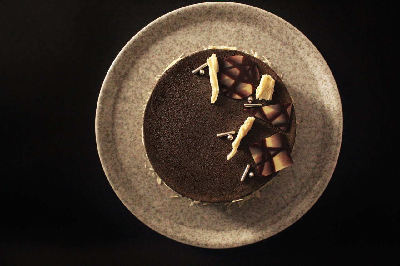 Tarta Prestigio Sin Gluten Vanusa Hazboun Coco Chocolate Cassis