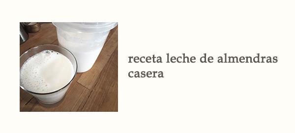 Rel Receta Leche Almendras Casera Afuegolento