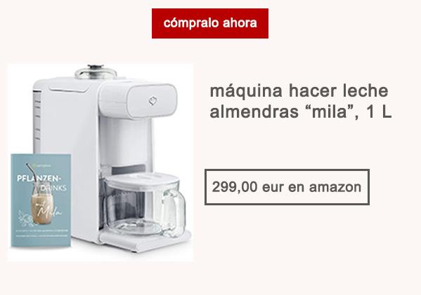 Maquina Leche Almendras Mila 1 Litro Afuegolento