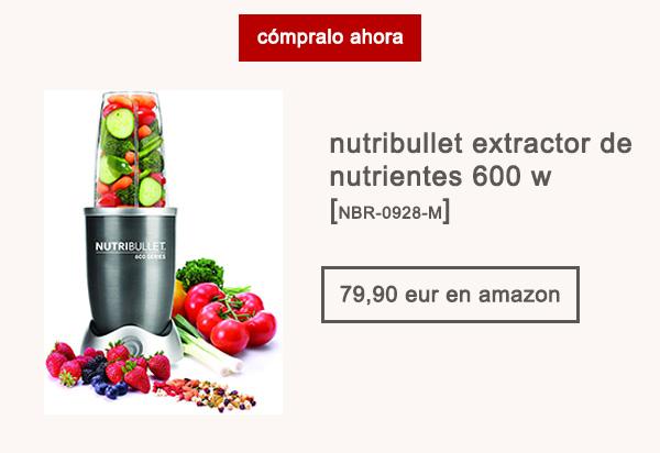 Nutribullet Extractor de Alimentos 600 W Afuegolento