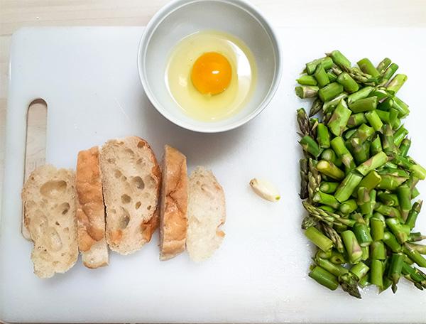 Receta Gazpacho Extremeño Esparragos Trigueros Huevo Frito Afuegolento 1