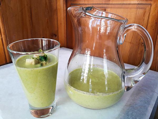 Receta Gazpacho Extremeño Esparragos Trigueros Huevo Frito Afuegolento 7