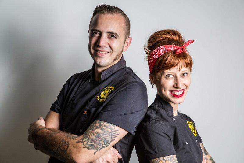 Cocineros Pau Navarro Ariadna Salvador Restaurante Clandesti Afuegolento