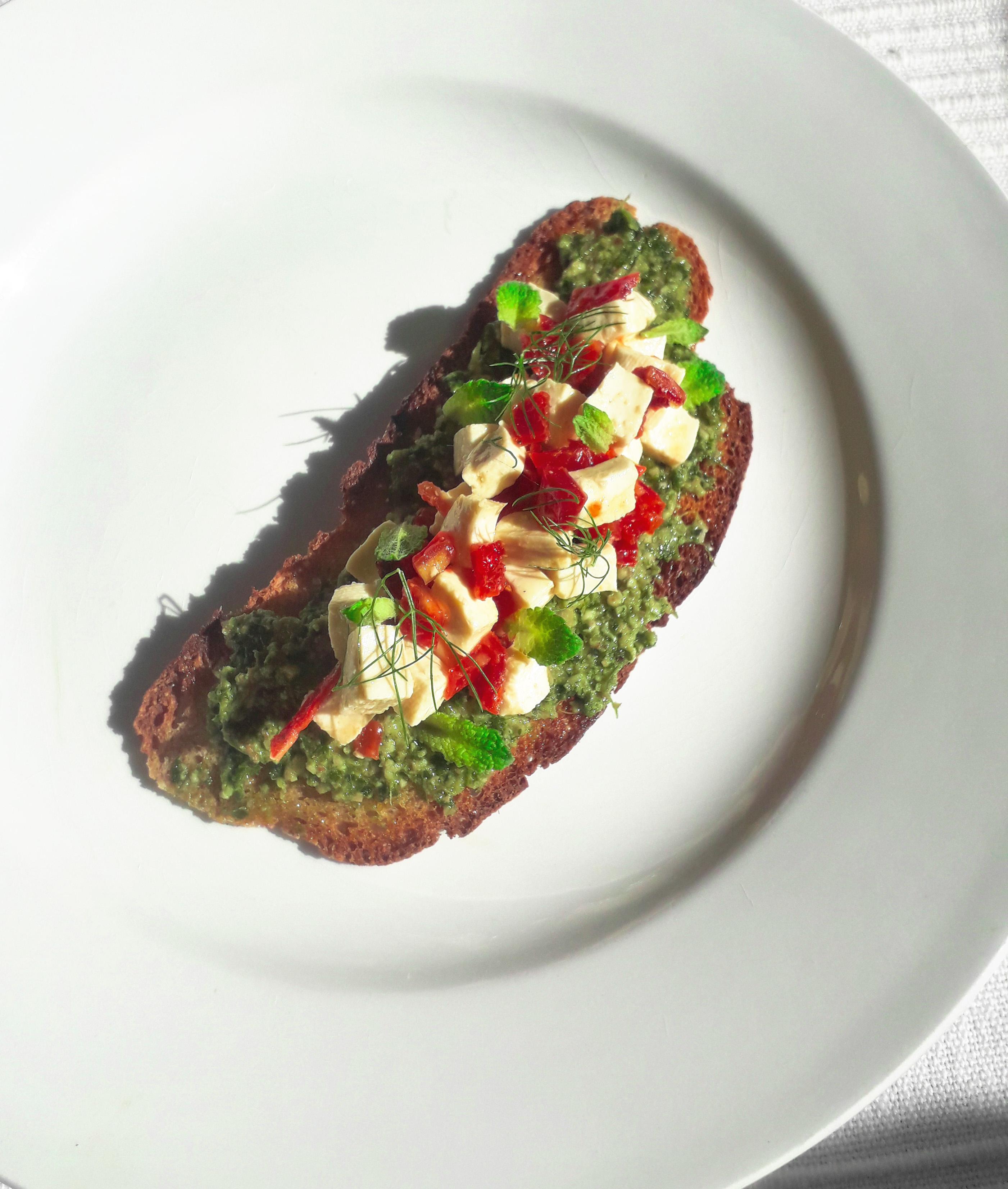 Receta Tostada Pan Sopas Jurvert Tofu Tomate Afuegolento 2