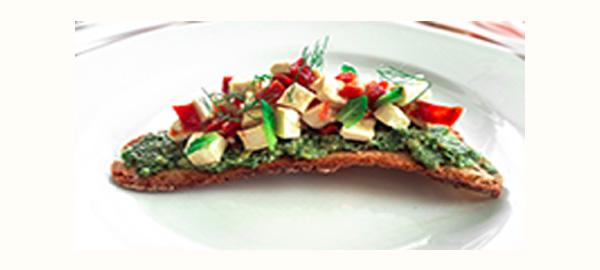 Rel Receta Vegana Coca Salsa Jurvert Tofu Tomate Seco Pan Sopas Mallorquin Afuegolento