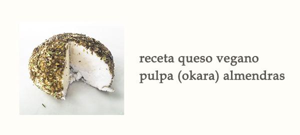 Rel Receta Queso Vegano Pulpa Okara Almendras Afuegolento