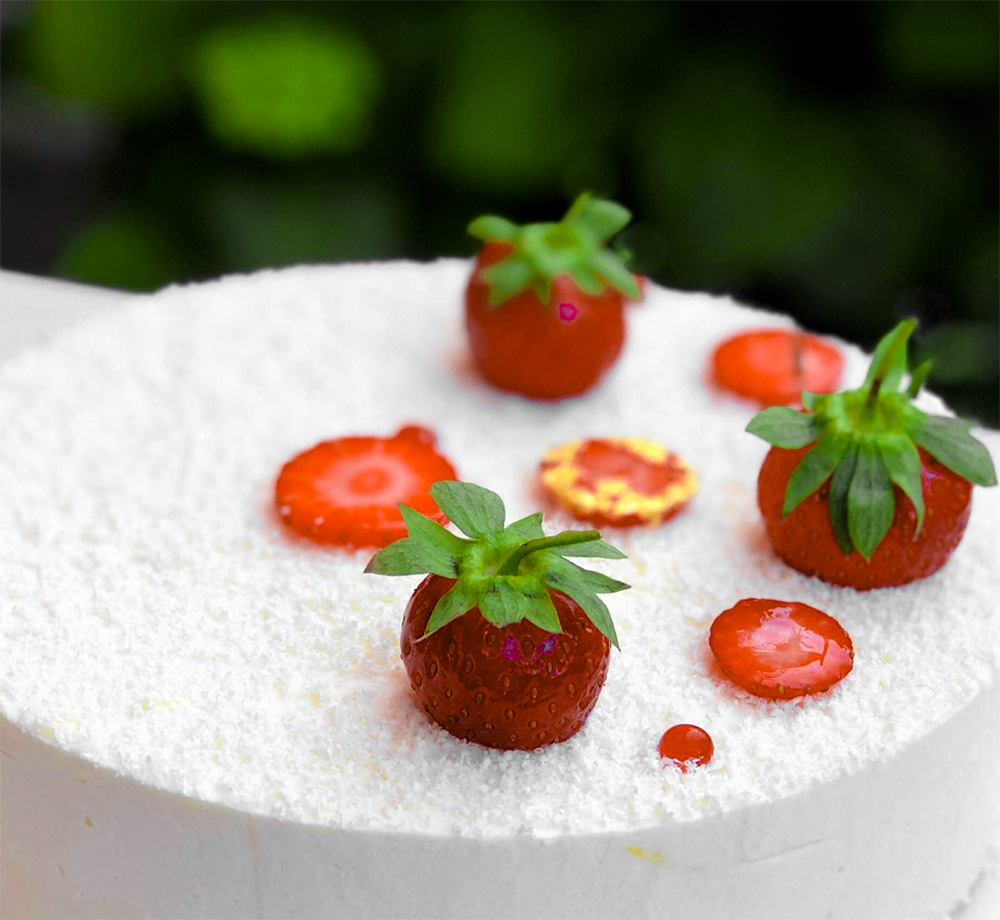 Receta Cheesecake Fresa Pistacho Ekaterina Mikhailova Afuegolento 2