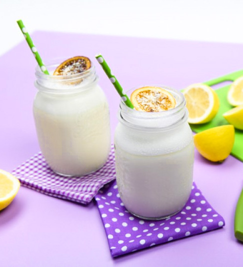 Receta All in Lemon Smoothie Ines Martinez Afuegolento