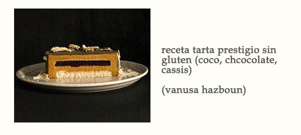Receta Tarta Prestigio Sin Gluten Coco Chocolate Vanusa Hazboun Afuegolento