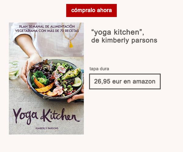 Libro Yoga Kitchen Kimberly Parsons Editorial Cinco Tintas Afuegolento