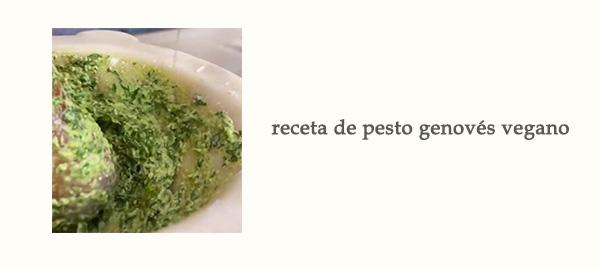 Receta Salsa Pesto Genoves Vegano Afuegolento Enlace