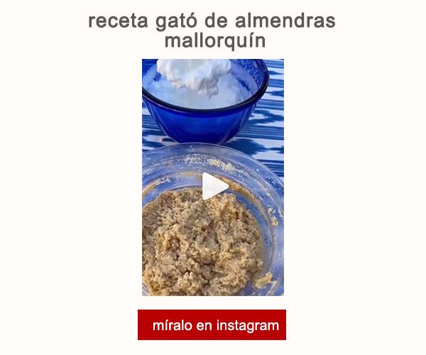Receta Gato Almendras Mallorquin Joana Ferrer Afuegolento V