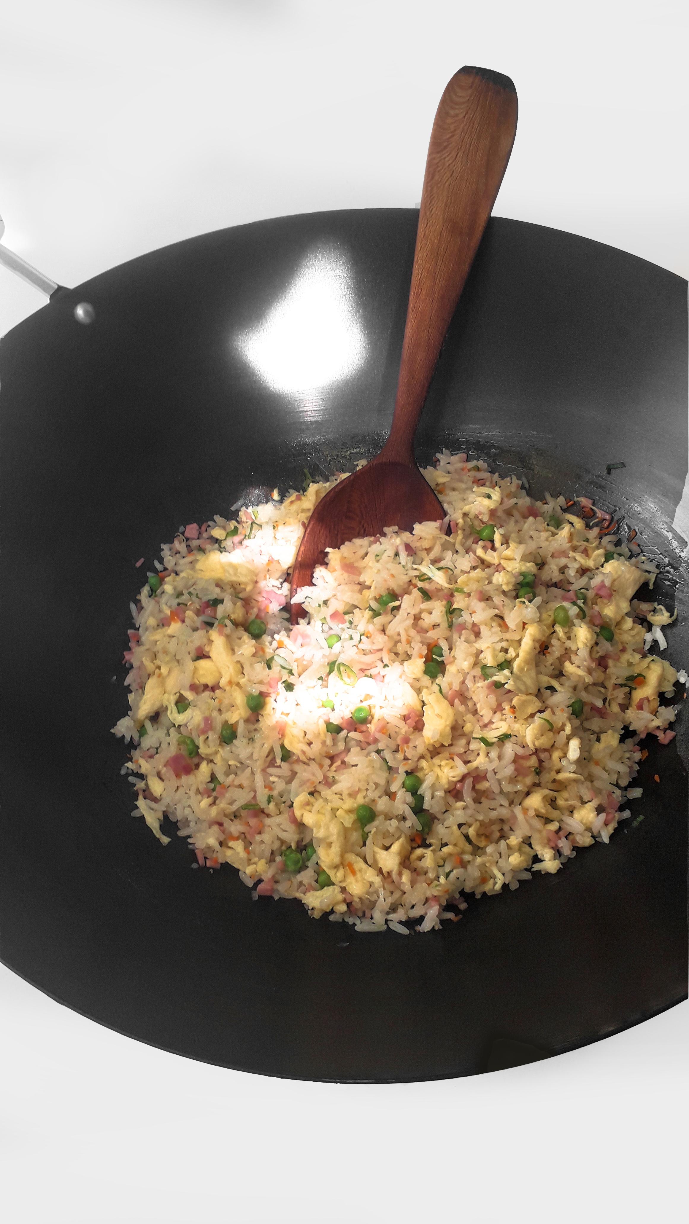 Receta Arroz Tres Delicias Ye Shenqian Afuegolento 5