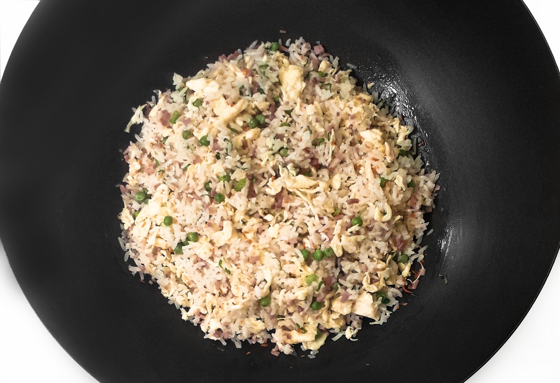 Receta Arroz Tres Delicias Ye Shenqian Afuegolento 2