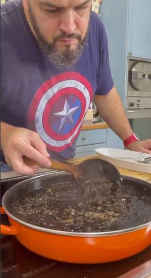 Receta Arroz Negro Meloso Sepia Calamar Kike Erazo Afuegolento 2