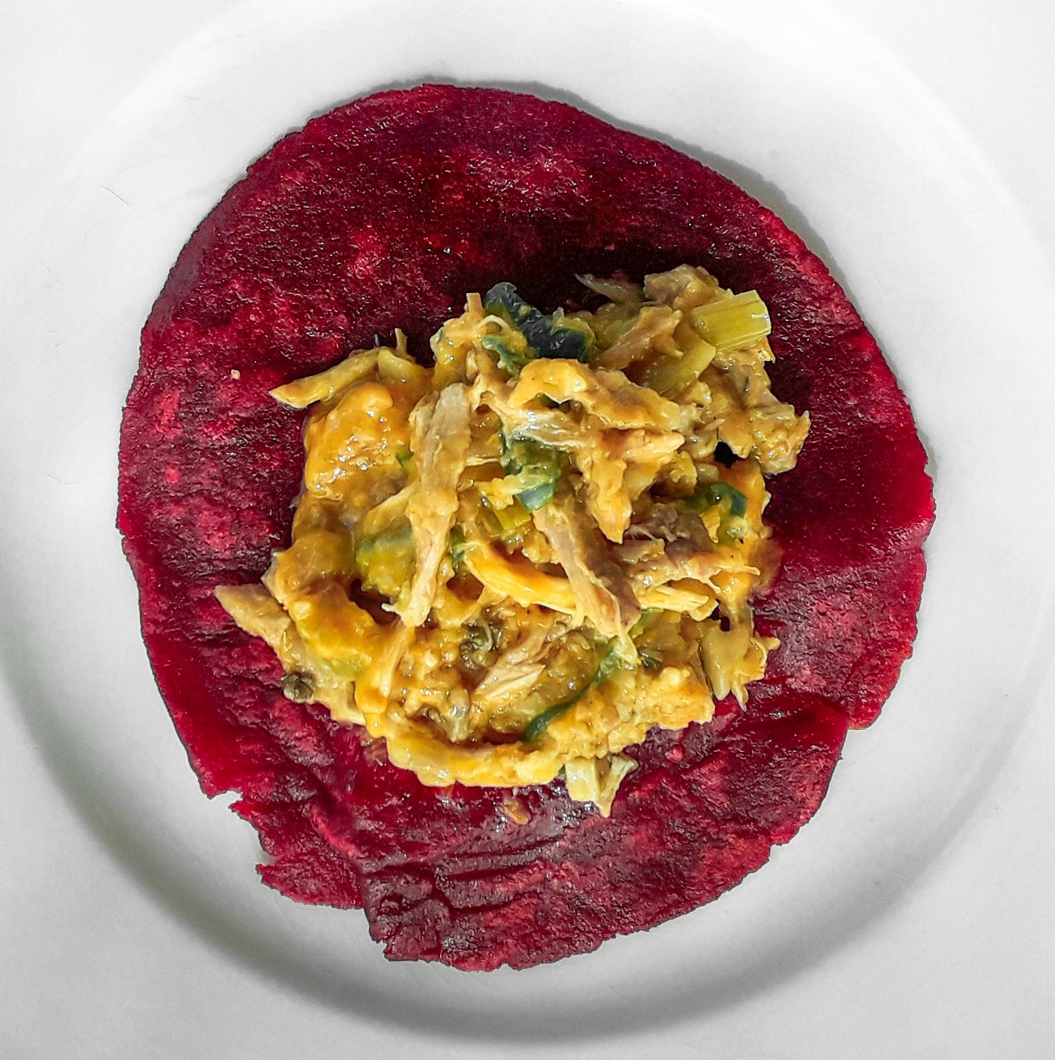 Receta Tacos Remolacha Sin Gluten Relenos Tinga Pollo Afuegolento 3